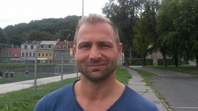 Ústecký kanonýr Jaroslav Roubík.