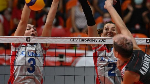 České volejbalistky na favorizované Turecko nestačily