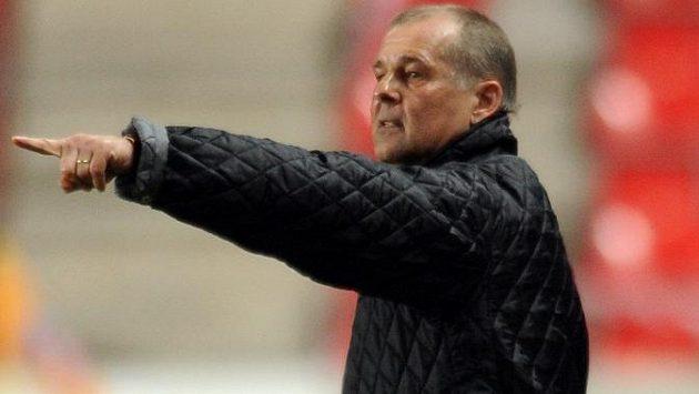 Slávistický trenér Petr Rada