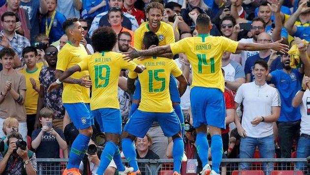 Fotbalisté Brazílie mají podle analýzy Gracenote vyhrát MS v Rusku.