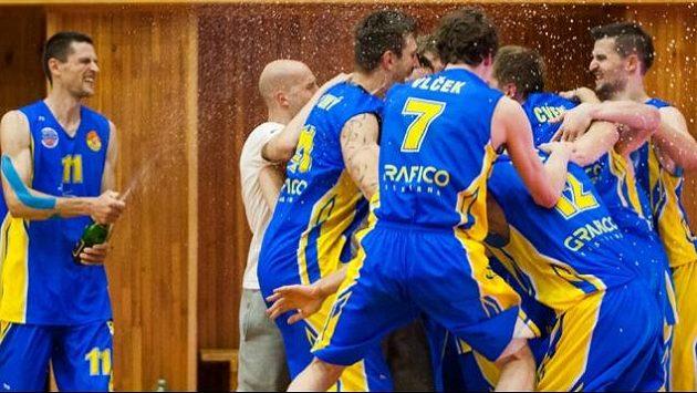 Radost opavských basketbalistů