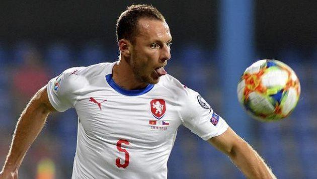 Slávista Vladimír Coufal nahradil v sestavě proti Černé Hoře legionáře Pavla Kadeřábka.