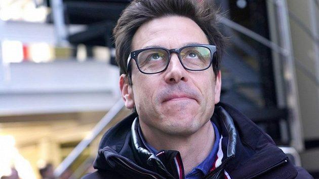 Šéf stáje formule 1 Mercedes Toto Wolff