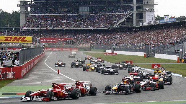 Vozy formule 1 letos v Německu nepojedou.