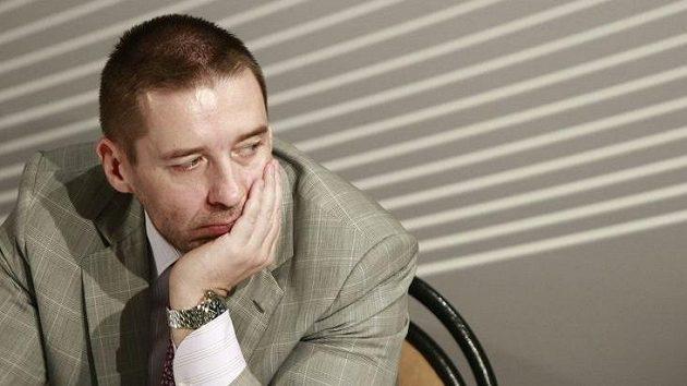 Předseda ligového shromáždění Dušan Svoboda.