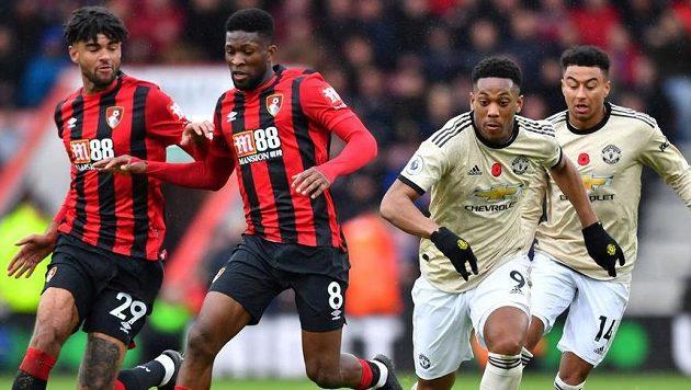 Manchester United si v 11. kole Premier League neporadil s Bournemouthem a jeho trápení pokračuje