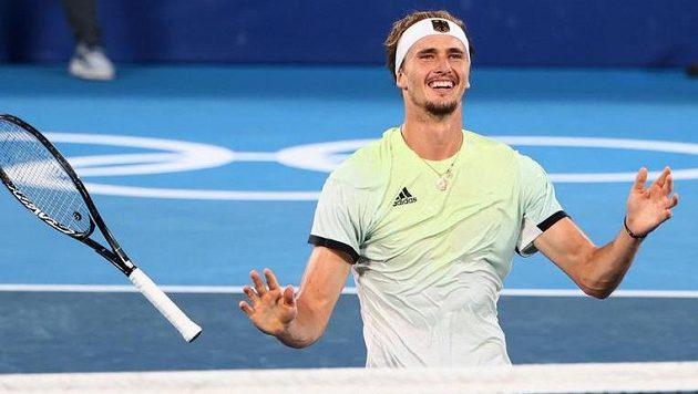 Alexander Zverev je olympijským vítězem