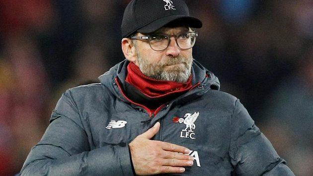 Podle Jürgena Kloppa necítí fotbalisté Liverpoolu po výhře 3:1 nad Manchesterem City tlak