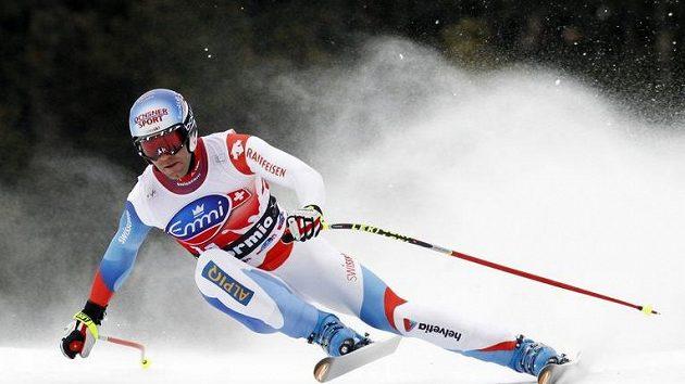 Švýcarský lyžař Didier Defago