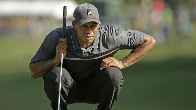 Tiger Woods na turnaji v Greensboro.