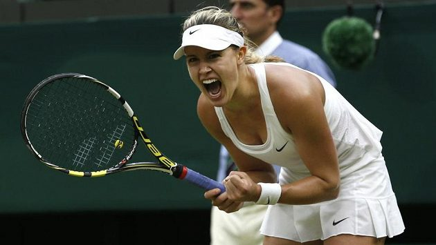 Kanadská tenistka Eugenie Bouchardová se probila už do semifinále Wimbledonu.