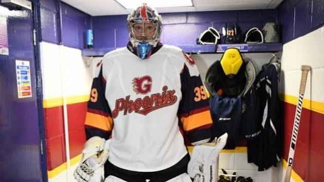 Petr Čech v hokejové šatně Guildfordu. A jde se na věc!