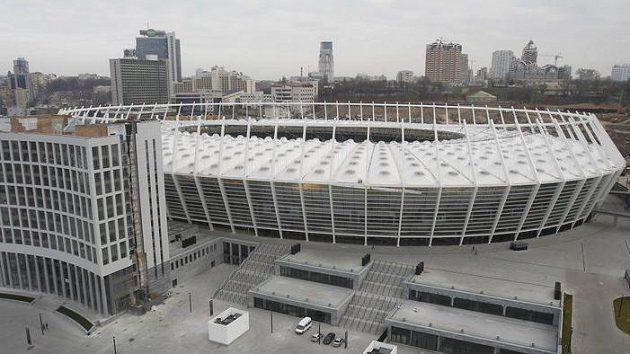 Stadión v ukrajinském Kyjevě je na Euro připraven. Stejně tak hoteliéři.