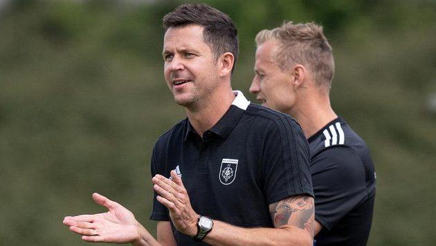 David Holoubek a Jiří Jarošík, trenéři Ružomberku