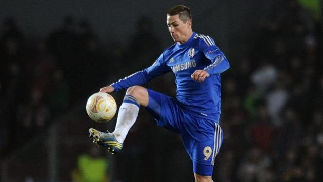 Fernando Torres ještě v dresu anglické Chelsea.