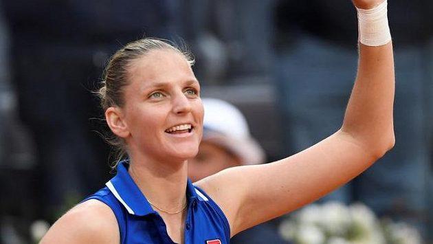 Karolína Plíšková patří v Paříži k favoritkám.