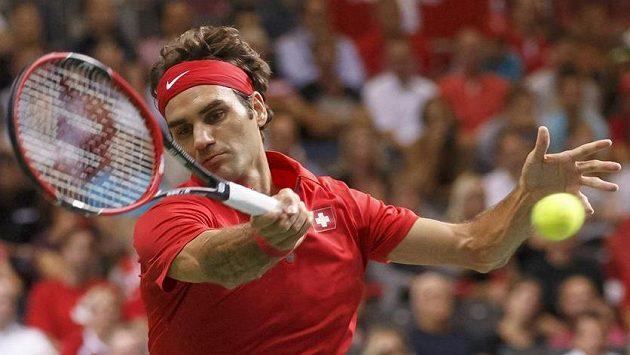 Roger Federer poslal Švýcarsko do finále po 22 letech...