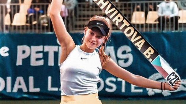 Brenda Fruhvirtová patří k velikým nadějím českého tenisu