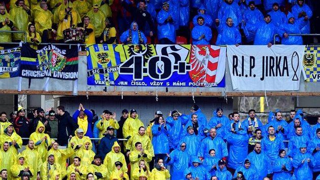 Fanoušci fotbalové Opavy (ilustrační foto)