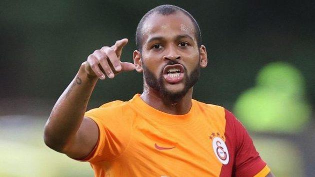 Brazilský fotbalista Marcao z Galatasaraye Istanbul
