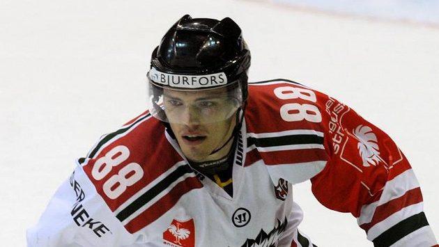 Útočník Frölundy Andreas Johnson.