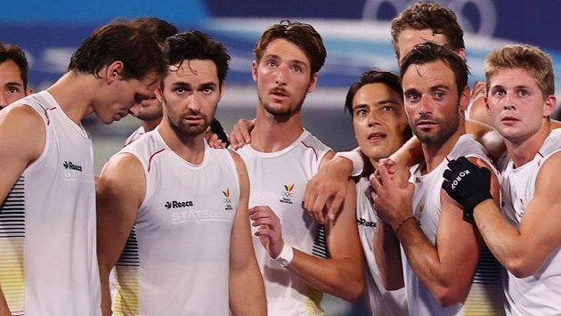 Belgičané porazili ve finále olympijského turnaje v pozemním hokeji Austrálii a získali zlato.