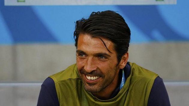Italský brankář Gianluigi Buffon.