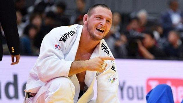 Lukáš Krpálek se za dva a půl týdne představí na mistrovství světa v Tokiu.