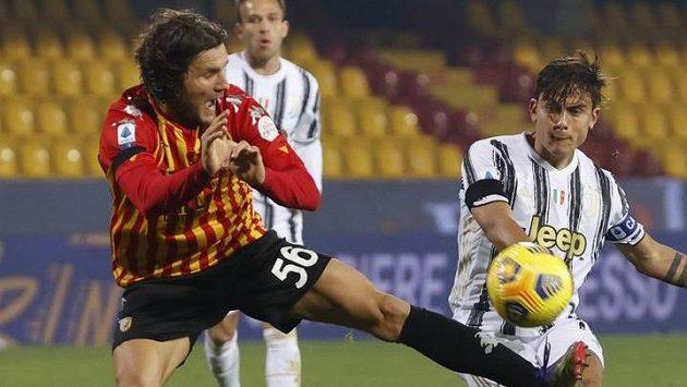 Juventus si připsal už pátý nerozhodný výsledek