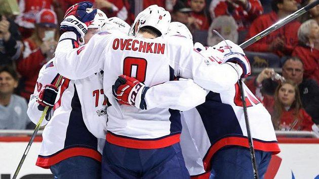 Hokejisté Washingtonu mají v letošní sezóně oprávněný důvod k radosti.