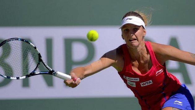 Talentovaná česká tenistka Karolína Plíšková.