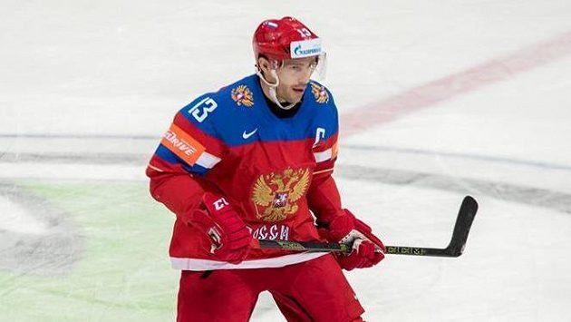 Pavel Dacjuk na snímku v reprezentačním dresu.