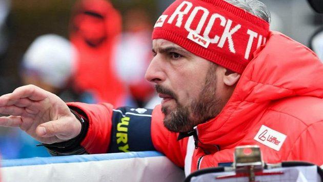 Pozitivní výsledek měl německý trenér rakouských reprezentantů Ricco Gross