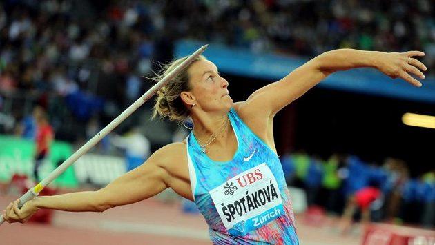 Barbora Špotáková v Curychu.