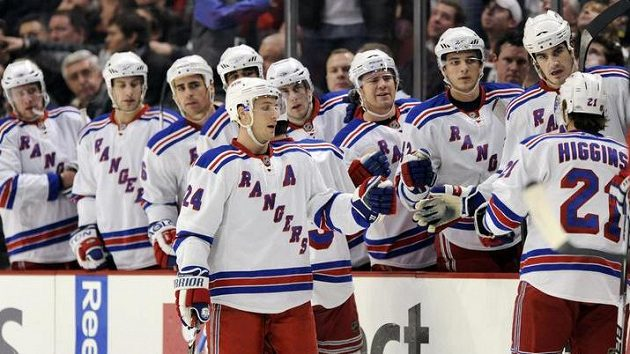 Hokejisté New York Rangers