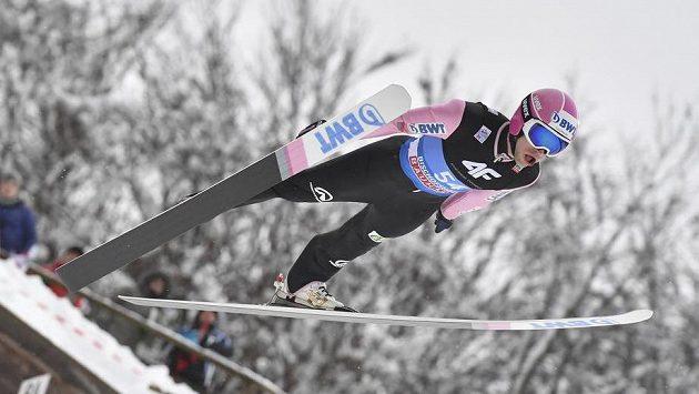 Roman Koudelka postoupil z kvalifikace do sobotního závodu Světového poháru ve Val di Fiemme.