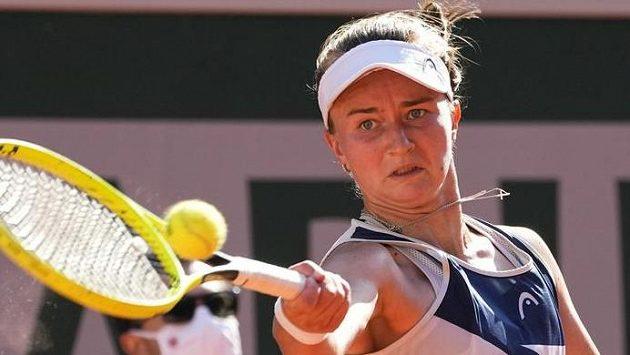Barbora Krejčíková si na French Open zahraje velké singlové finále