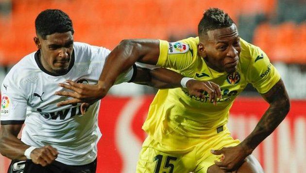 Fotbalisté Valencie rozhodli o svém vítězství nad Villarrealem v nastavení