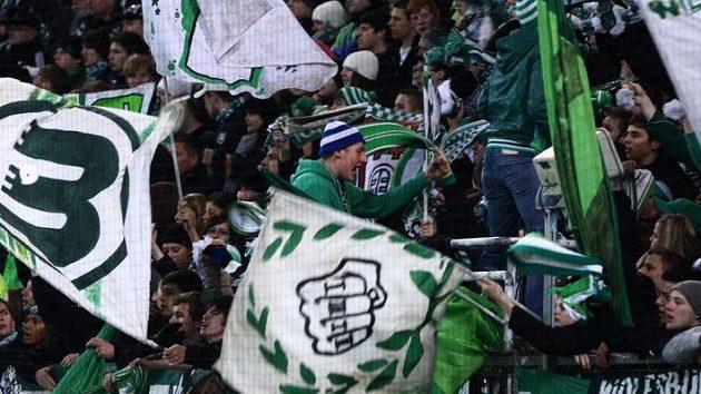 Fanoušci Wolfsburgu