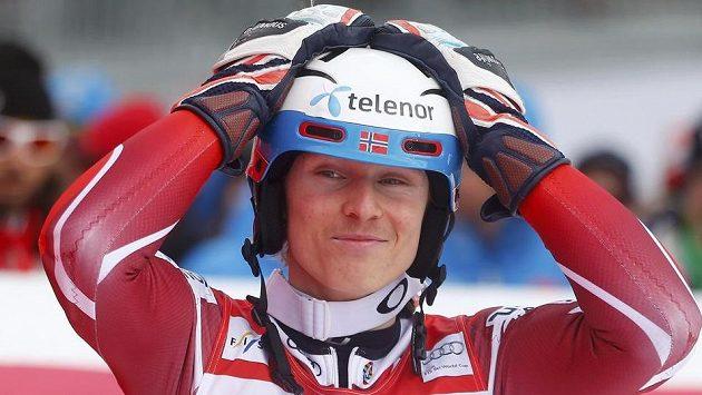 Nor Henrik Kristoffersen vyhrál slalom v Kitzbühelu.