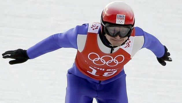 Pavel Churavý na olympiádě v Soči.