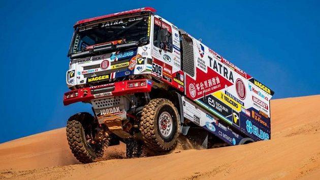 Buggyra bude na Dakaru i nadále úzce spolupracovat s Tatrou.