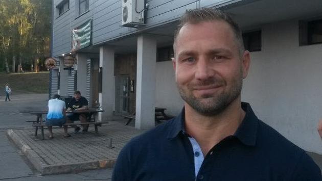Nyní už bývalý hokejista Jaroslav Roubík.