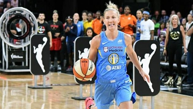 Americká basketbalistka Courtney Vanderslootová