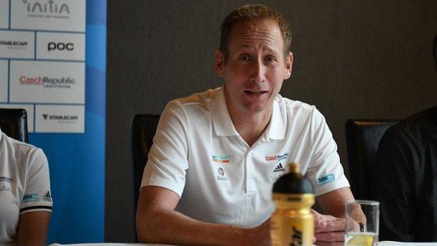 Lukáš Bauer, závodící šéf svého Bauer Ski Teamu.