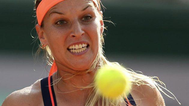 Slovenská tenistka Dominika Cibulková se s Paříží rozloučila překvapivě už ve 2. kole.