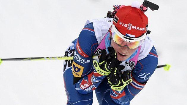 Nejlepší Češkou ve sprintu v Anterselvě byla Veronika Vítková.