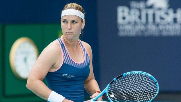 Dominika Cibulková na turnaji v Miami.