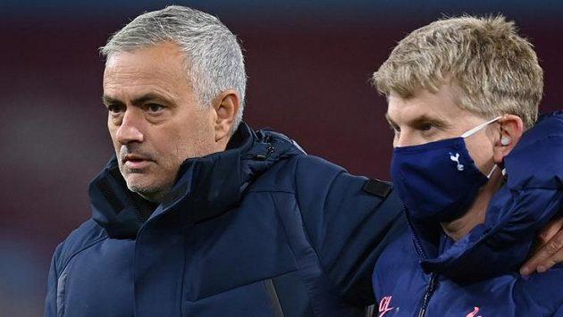 Jose Mourinho měl po zápase důvod ke spokojenosti