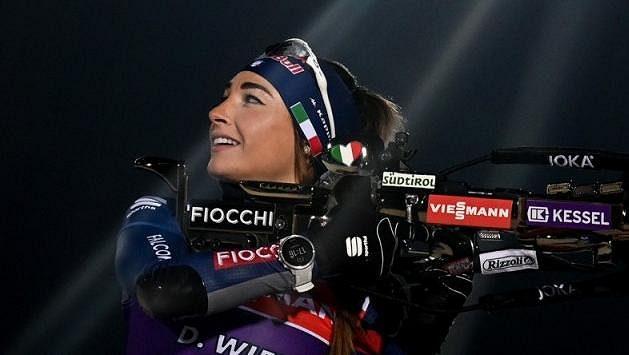 Italská biatlonistka Dorothea Wiererová